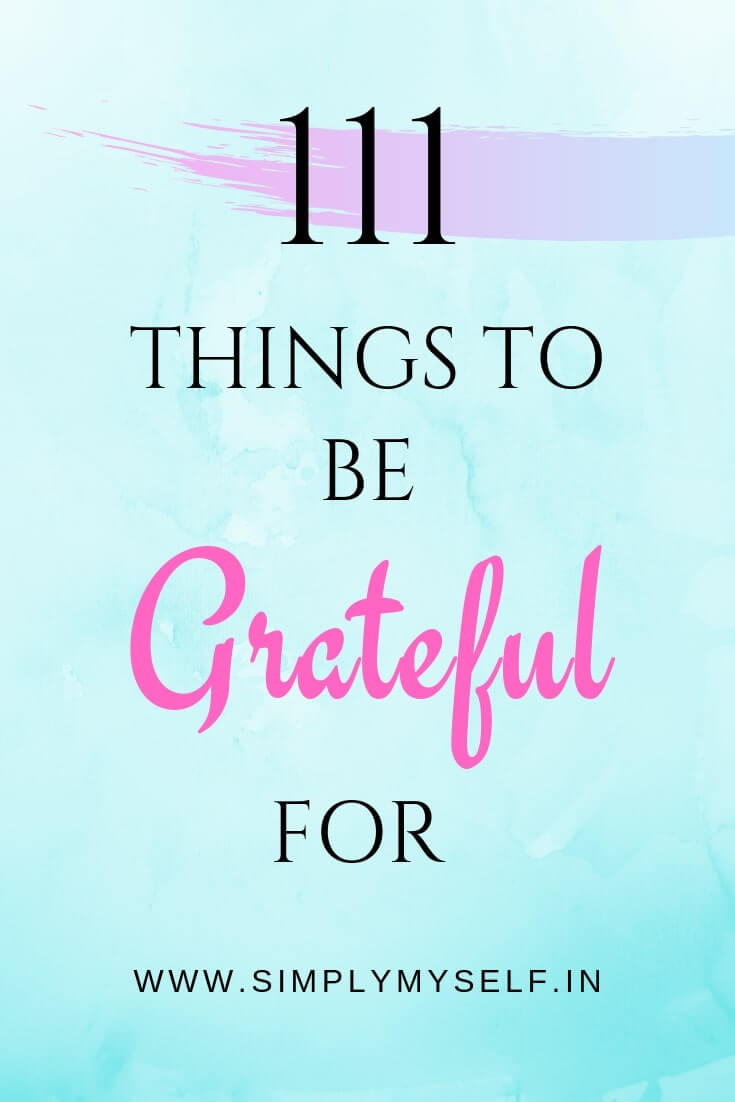 111-things-to-be-grateful-for